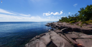 Duluth Minnesota on the shores of Lake Superior