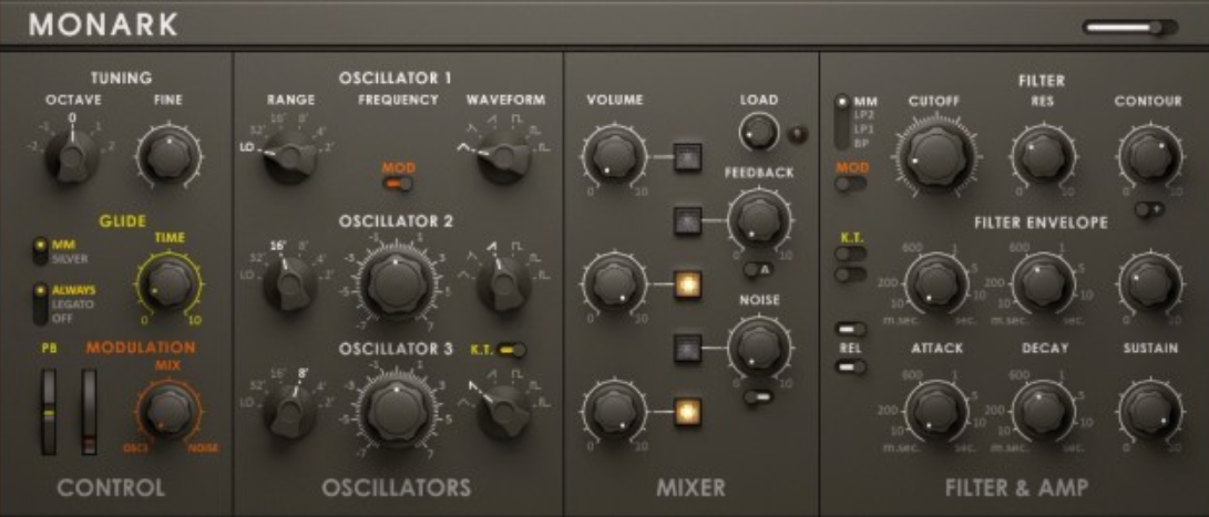 Monark Synthesizer for Film Scoring